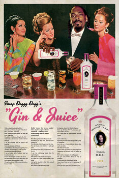 Canvas Print Gin and Juice