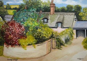 Granary Cottage, 2009 Canvas Print
