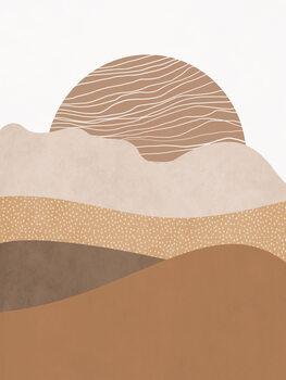 Canvas Print Graphic Sunrise