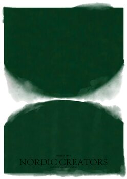 Canvas Print Green Abstract