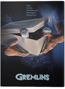 Gremlins - One Sheet Gizmo Canvas Print