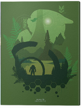Canvas Print Halo: Infinite - Lakeside