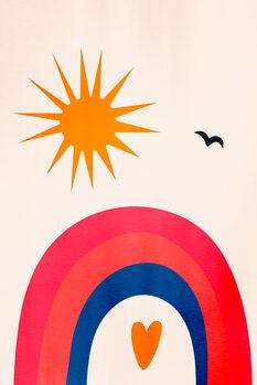 Canvas Print Happy Days!
