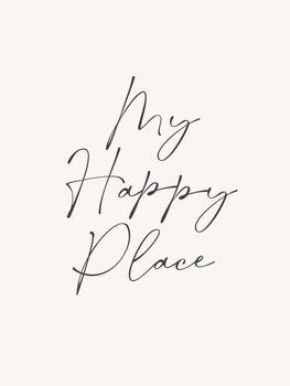 Canvas Print Happy place