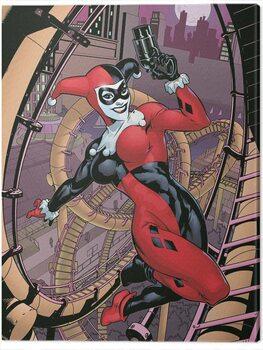Canvas Print Harley Quinn - Rollercoaster