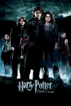 Canvas Print Harry Poter - The Goblet of Fire