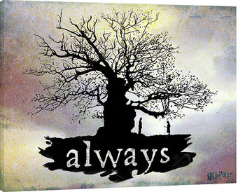 Harry Potter - Always Canvas Print