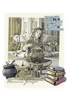 Canvas Print Harry Potter - Hermione Granger