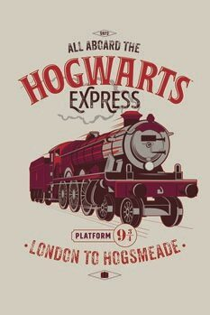 Canvas Print Harry Potter - Hogwarts Express