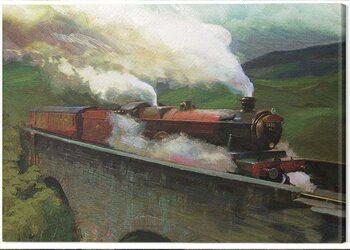 Canvas Print Harry Potter - Hogwarts Express Landscape