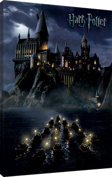 Harry Potter - Hogwarts School Canvas Print