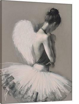 Hazel Bowman - Angel Wings II Canvas Print