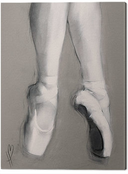 Hazel Bowman - Dancing Feet II Canvas Print