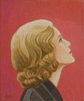 Hitchcock Blonde Canvas Print