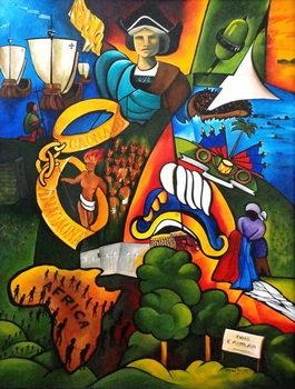 Hope at Sunrise, 2007 Canvas Print