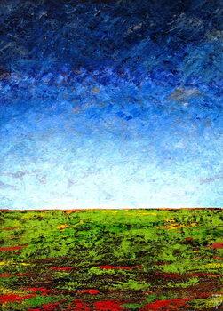 Horizon I, 2001 Canvas Print