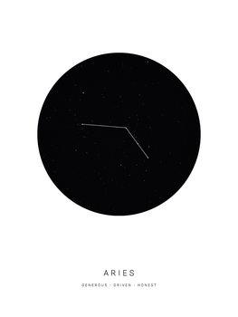 horoscopearies Canvas Print