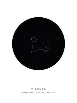 horoscopepiesces Canvas Print