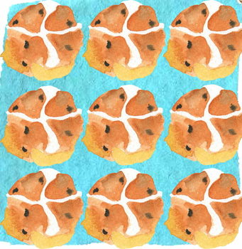Hot Cross Buns Canvas Print