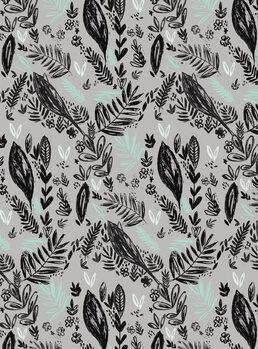 Canvas Print Inky jungle