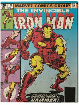 Canvas Print Iron Man - Hammer