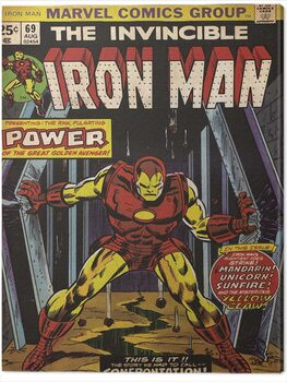 Canvas Print Iron Man - Power