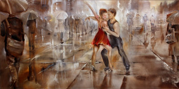 It´s raining again Canvas Print