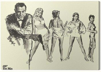 Canvas Print James Bond - Dr. No