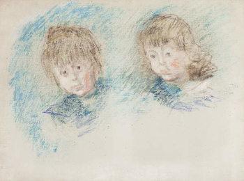 Jean-Pierre Hoschede and Michel Monet Canvas Print