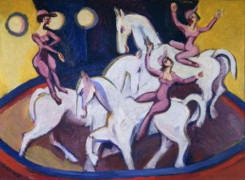Jockeyakt, 1925 Canvas Print