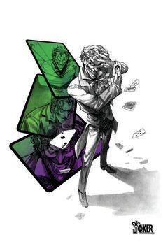 Canvas Print Joker - Player