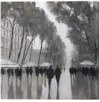 Canvas Print Jon Barker - Las Ramblas, Barcelona