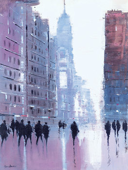 Jon Barker - Manhattan Reflections Canvas Print