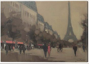 Canvas Print Jon Barker - Time Out in Paris
