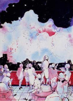July 4th (Macy's Fireworks) Canvas Print