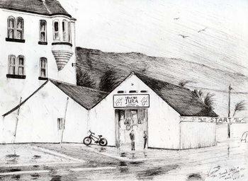 Jura Race start, 2005, Canvas Print