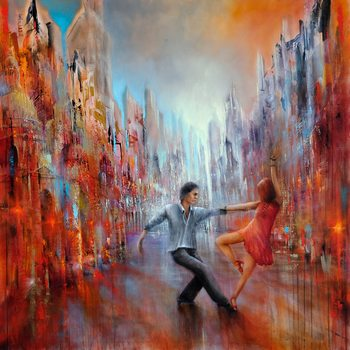 Canvas Print Just dance!