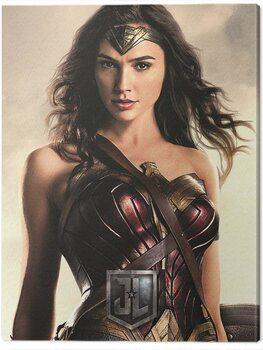 Canvas Print Justice League Movie - Wonder Woman