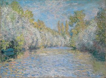 Canvas Print L'Yerres Near Montgeron; L'Yerres pres de Montgeron