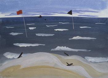 La Mer par Mistral, 1987 Canvas Print