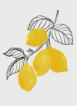 Canvas Print Lamya lemons