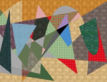 Canvas Print landscape #1,2019,