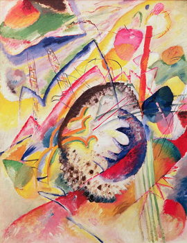 Canvas Print Large Study, 1914