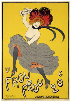 Le Frou-Frou  inaugural issue Canvas Print