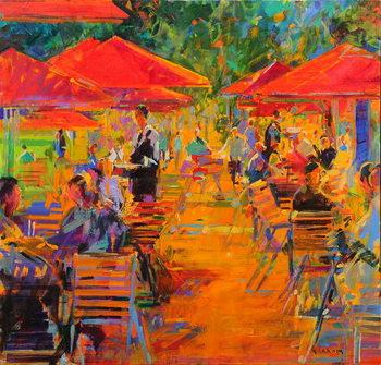 Le Jardin des Tuileries Canvas Print