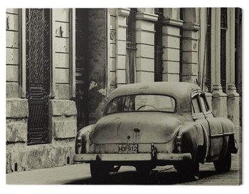 Canvas Print Lee Frost - Vintage Car, Havana, Cuba