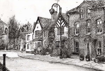 Canvas Print Leigh Arms Prestbury, 2009,