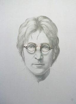 Lennon (1940-80) Canvas Print