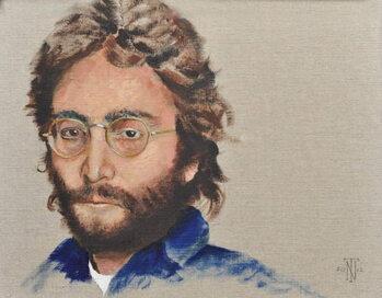 Lennon, 2012 Canvas Print