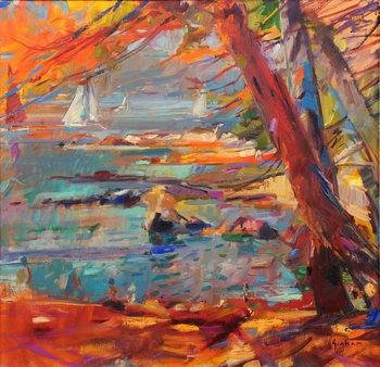 Les Iles de Lerins Canvas Print